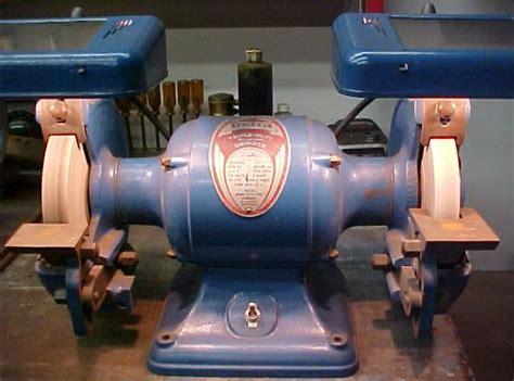 vintage delta  bench grinder vintage tools