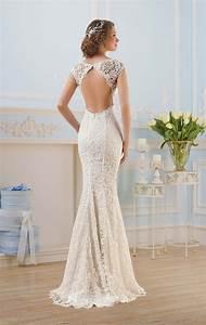robe de mariee dos nu semi nu et en dentelle 70 designs With robe de mariée dos nu plongeant
