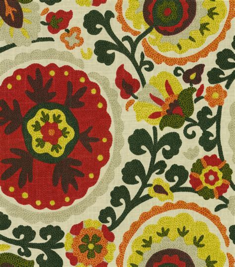 home decor fabric home decor print fabric kas cavallo spice jo