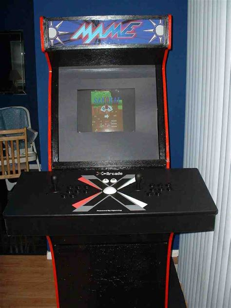 mame arcade cabinet plans diy mame cabinet home furniture design