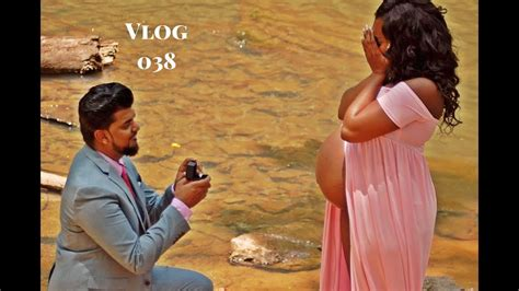 Maternity Shoot Turns Into The Best Wedding / Marriage