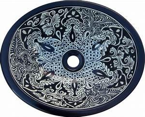 S 184 mexican 11 5x16quot ceramic talavera bathroom sink ebay for Talavera bathroom sinks