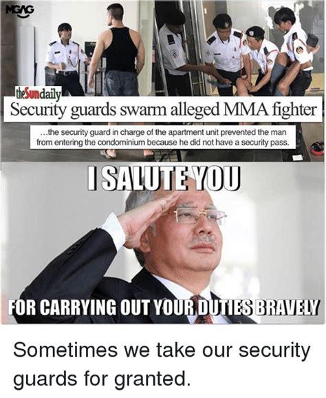 Security Guard Meme - 25 best memes about salute you salute you memes