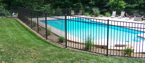 pools with fences pictures pool barriers fences the ultimate in pool care