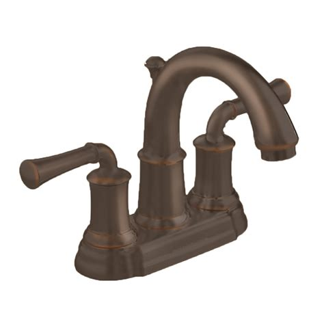 rubbed bronze bathroom faucets shop american standard portsmouth rubbed bronze 2