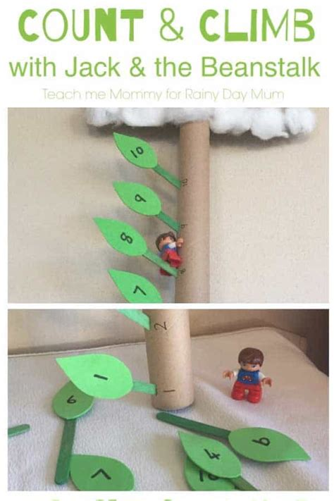 count and climb maths activity for and the beanstalk 231 | count and climb beanstalk activity
