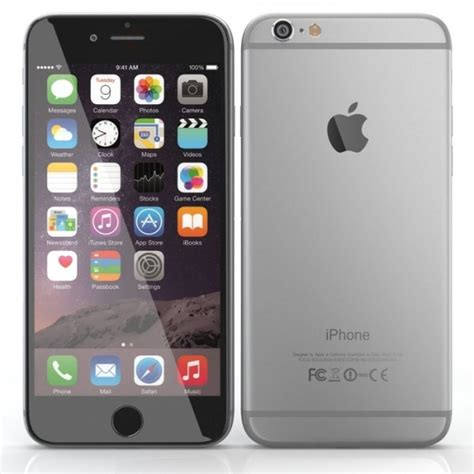 iphone 6 space grey apple iphone 6 smartphone space grey 16gb refurbished