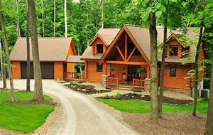 Amish built log homes fairview log homes for carrollton for Amish home construction