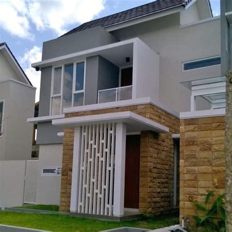desain depan rumah  bagus contoh