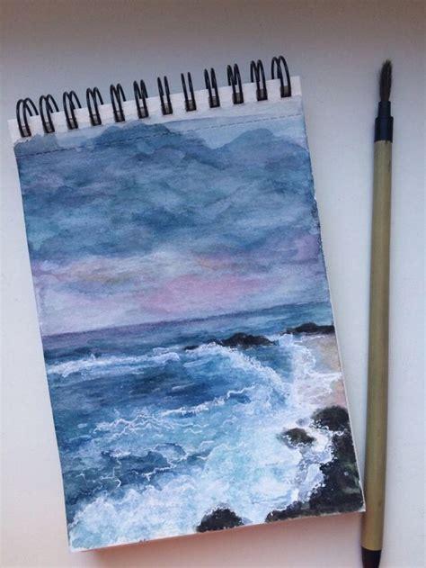 aesthetic art artwork beach beautiful blue book