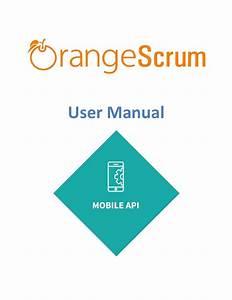 Orangescrum Mobile Api Add On User Manual