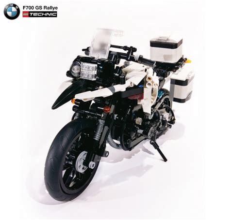 lego bmw motorrad bmw f700 gs rallye the lego car