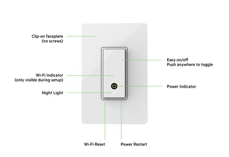 wemo 3 way light switch wemo 174 wi fi smart light switch