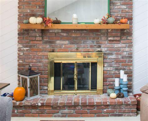 Fireplace Door Paint - fireplace door update with spray paint roots wings
