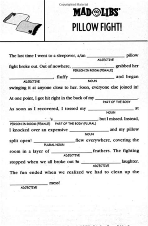 Httpswwwgooglecasearch?q=mad Libs Worksheets For Adults …  Mad Libs Pinte…