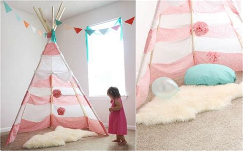 Tipi Kinderzimmer Rosa by Tipi N 228 Hen Eine Kreative Idee F 252 R Das Kinderzimmer