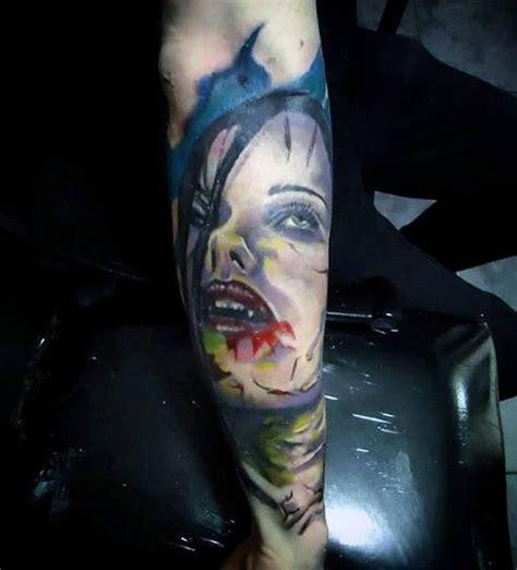 awesome scary vampire tattoos golfiancom
