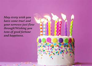 Birthday Wishes For Friends Cake With Quotes   Best Wishes