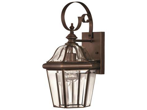 hinkley lighting augusta copper bronze outdoor wall light