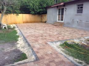 brick paver patio designs