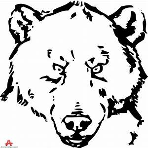 Drawing A Bear Face - Drawing Sketch Picture