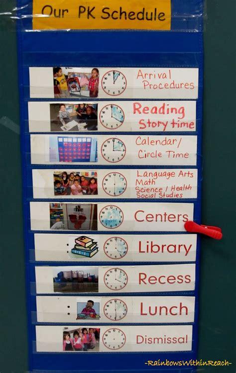visual schedule www rainbowswithinreach