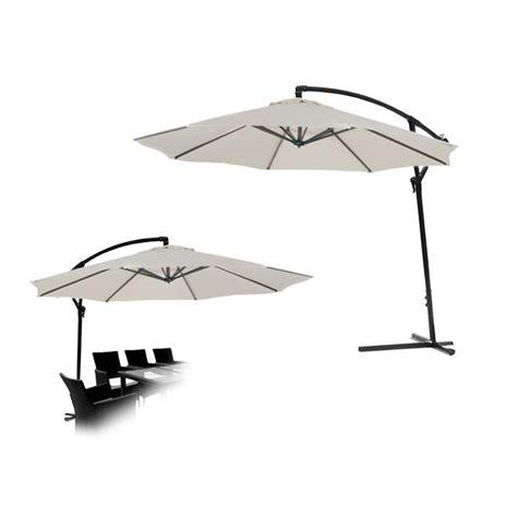 kct large 3 5m cantilever garden patio parasol