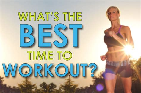 What's The Best Time Of Day To Workout?  Kathy Smith