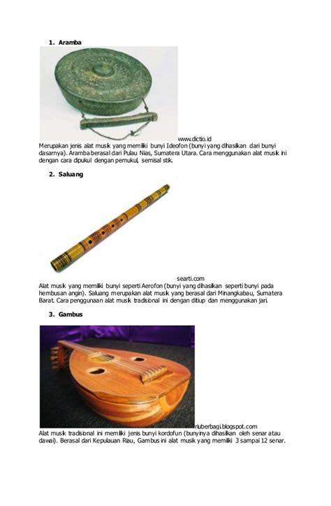 Konon katanya setiap pemain alat musik saluang memiliki mantra tersendiri yang dapat menghipnotis jika dilihat, alat musik ini sama dengan aramba dan yang membedakan hanyalah warnanya saja. Alat Musik Aramba Berasal Dari Daerah - Berbagai Alat