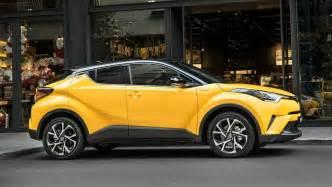 2017 Toyota SUV Yellow