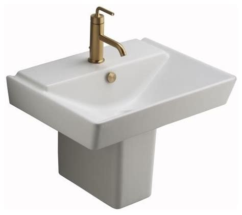 kohler reve 23 sink kohler k 5031 0 reve shroud in white traditional