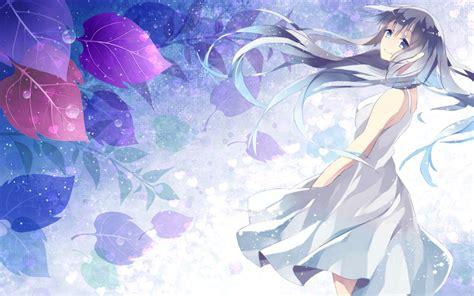 Anime Winter Wallpaper by Anime Winter Desktop Wallpaper By Lizzywolffire6 On