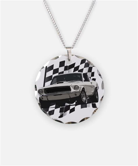 ford mustang necklace 1969 ford mustang jewelry 1969 ford mustang designs on