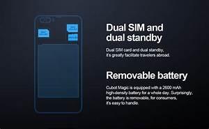 Smartphone Batterie Amovible 2017 : cubot magic 5 pouces avec batterie amovible chinandroid ~ Dailycaller-alerts.com Idées de Décoration