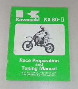 Operating Instructions  Owners Manual Kawasaki Kx 80