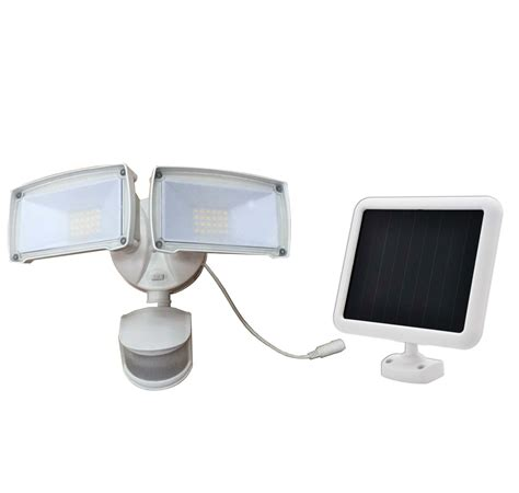 Solar Lights by Solar Motion Sensing Security Lights From Creative Industries
