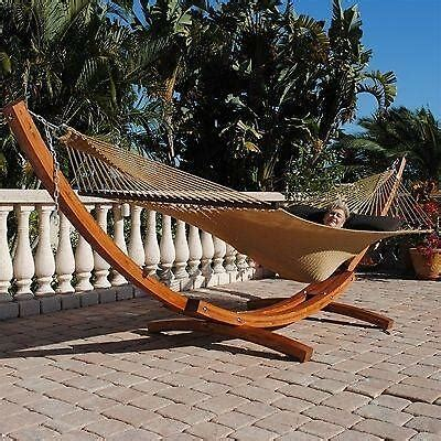 Hammock Wooden Stand by Wood Hammock Stand Ebay