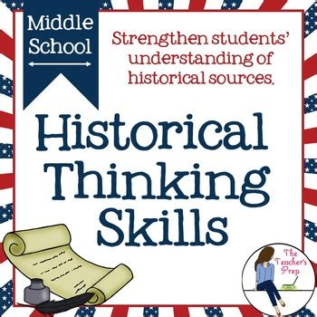 historical thinking skills activities by the s