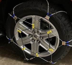 Tire Cable  Chains On Rear Only For 4x4 Too