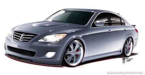 Rksport Prepping Custom Hyundai Genesis Sedan For Sema