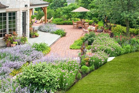 Brick Planters Designs by French Country Garden Traditional Landscape Chicago