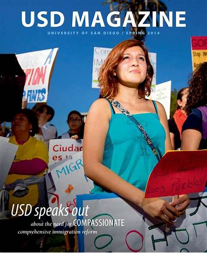 Usd Diego San University Issuu Spring Magazine