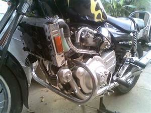 Rare Motorcycle  Maruti 800 Engine On A Motorcycle
