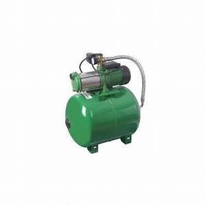 Pompe Avec Surpresseur : pompe surpresseur 100l avec multicellulaire 5 turbines ~ Premium-room.com Idées de Décoration