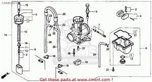 Honda Cr250r Elsinore 1990  L  Usa Carburetor