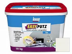 Knauf Easyputz Farben : knauf easyputz fein korngr e 1 mm 10 kg wei ~ Eleganceandgraceweddings.com Haus und Dekorationen