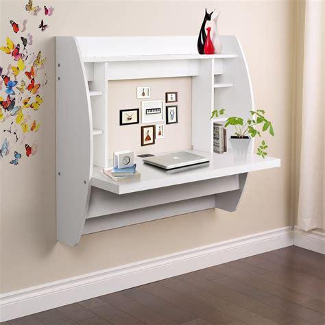 amazoncom umax wall mounted floating desk  storage