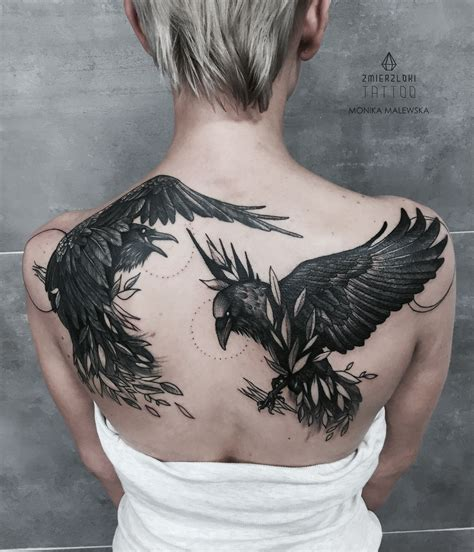 odins ravens tattoo  behance tattoo ideas ideias de