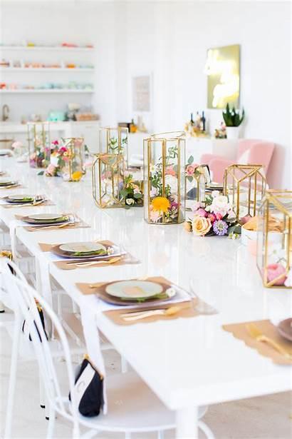 Bridal Shower Centerpieces Flower Bride Table Garden