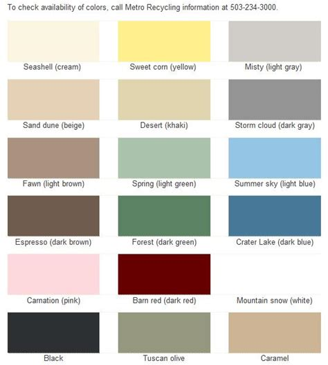 Latex Paint Color Mixing Chart
